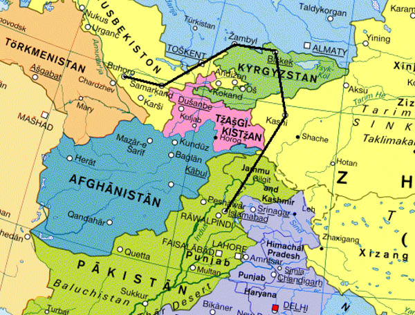Karakorum Mongolia Map on Honda Metropolitan Diagram
